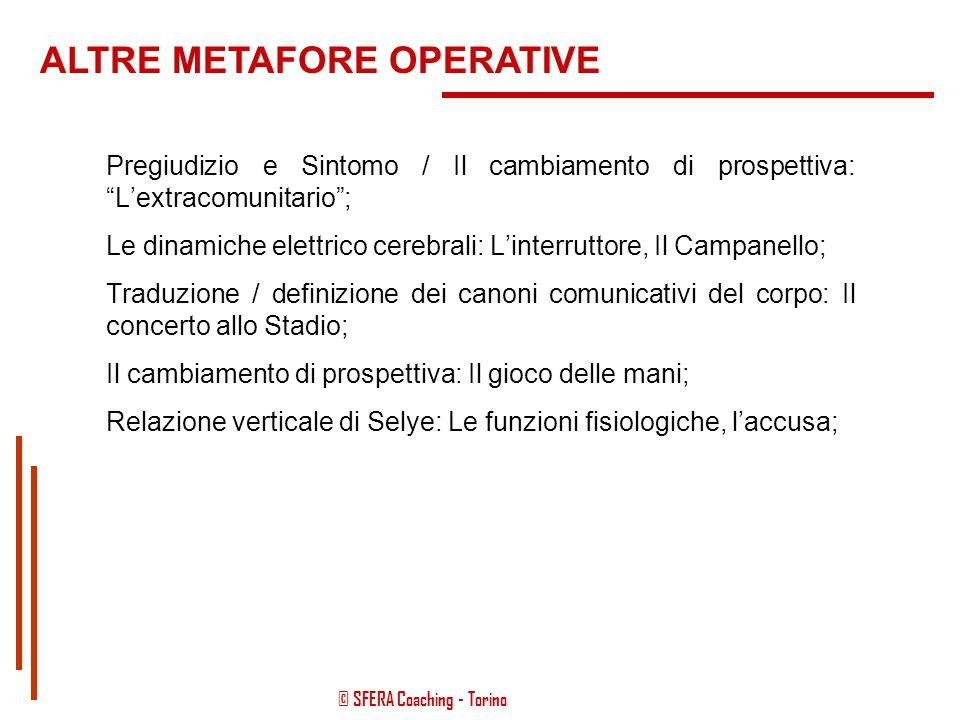 """© SFERA Coaching - Torino """"Che cosa farebbe nel caso in cui..., mentre sta viaggiando sulla sua auto..., all'improvviso sul cruscotto si accendesse la"""