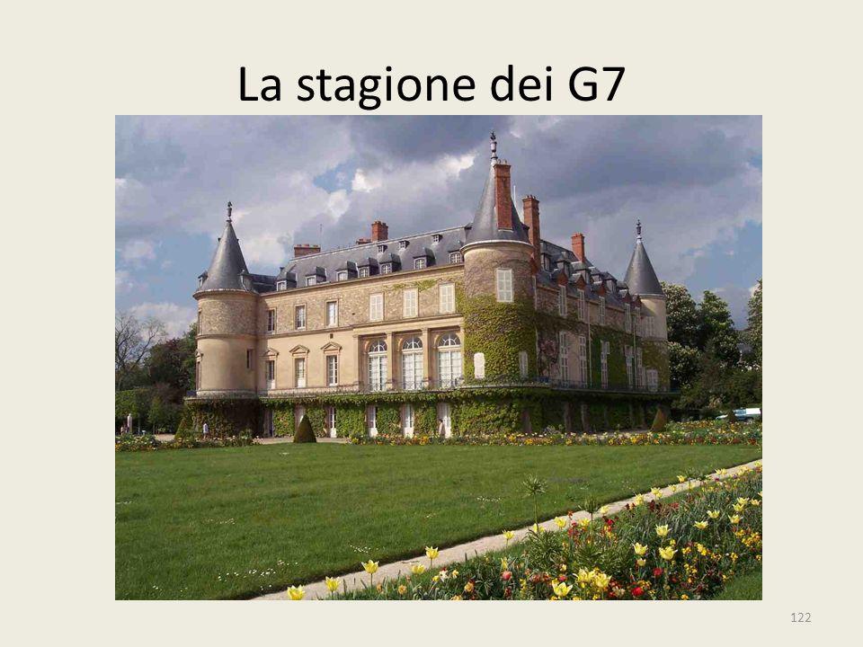 122 La stagione dei G7