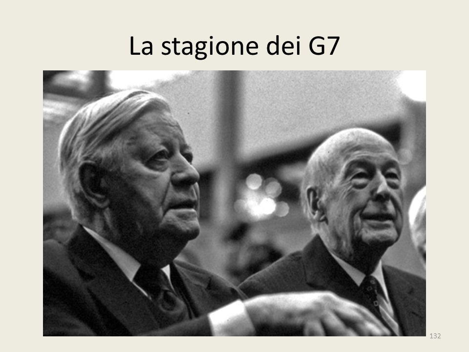 132 La stagione dei G7