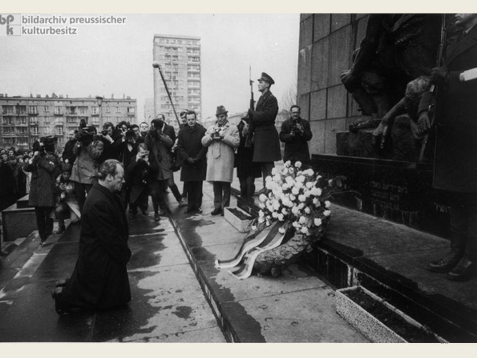 La distensione europea In concreto, il governo Brandt normalizzava le relazioni tra la Repubblica Federale Tedesca e l'Unione Sovietica, poi con tutti