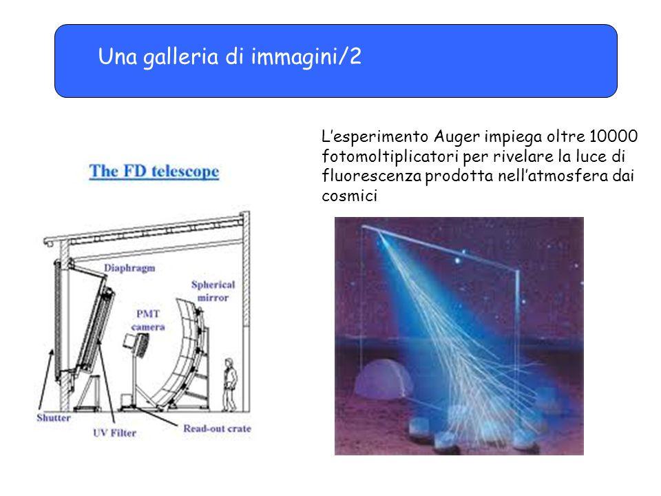 Una galleria di immagini/2 L'esperimento Auger impiega oltre 10000 fotomoltiplicatori per rivelare la luce di fluorescenza prodotta nell'atmosfera dai