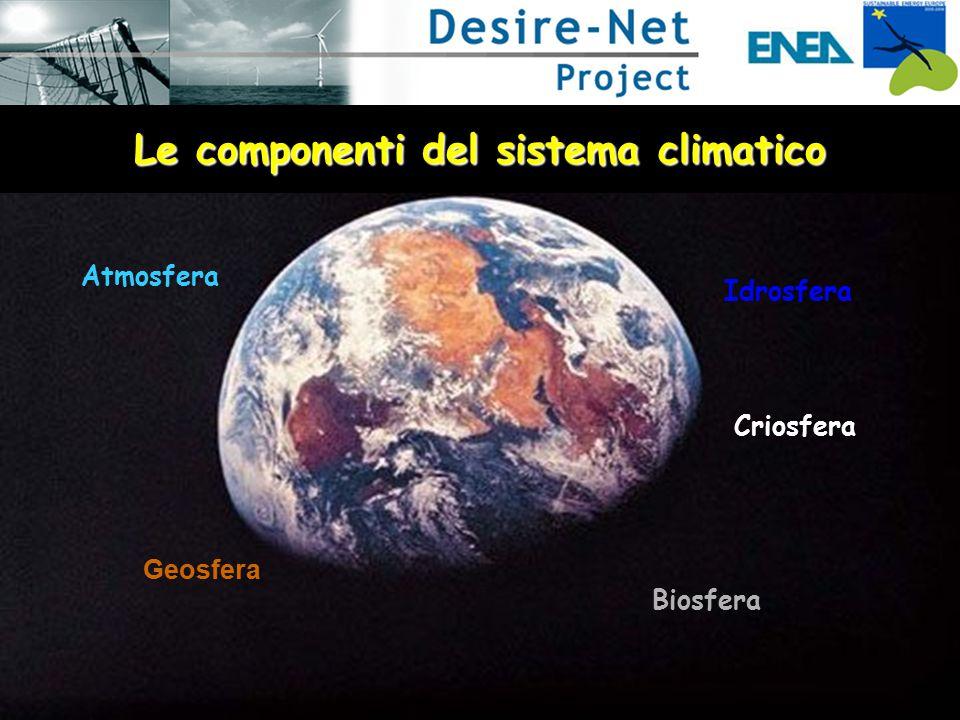 L'atmosfera L'atmosfera è una miscela di gas ed aerosol che nell'insieme viene chiamata aria.