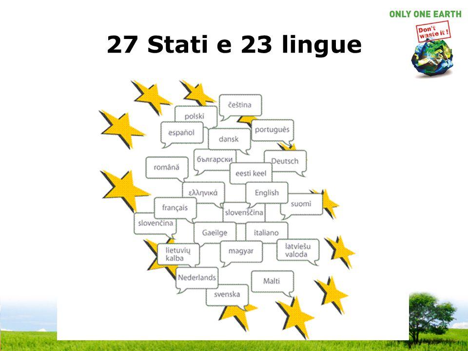 27 Stati e 23 lingue