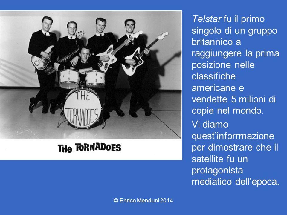 Telstar fu il primo singolo di un gruppo britannico a raggiungere la prima posizione nelle classifiche americane e vendette 5 milioni di copie nel mon