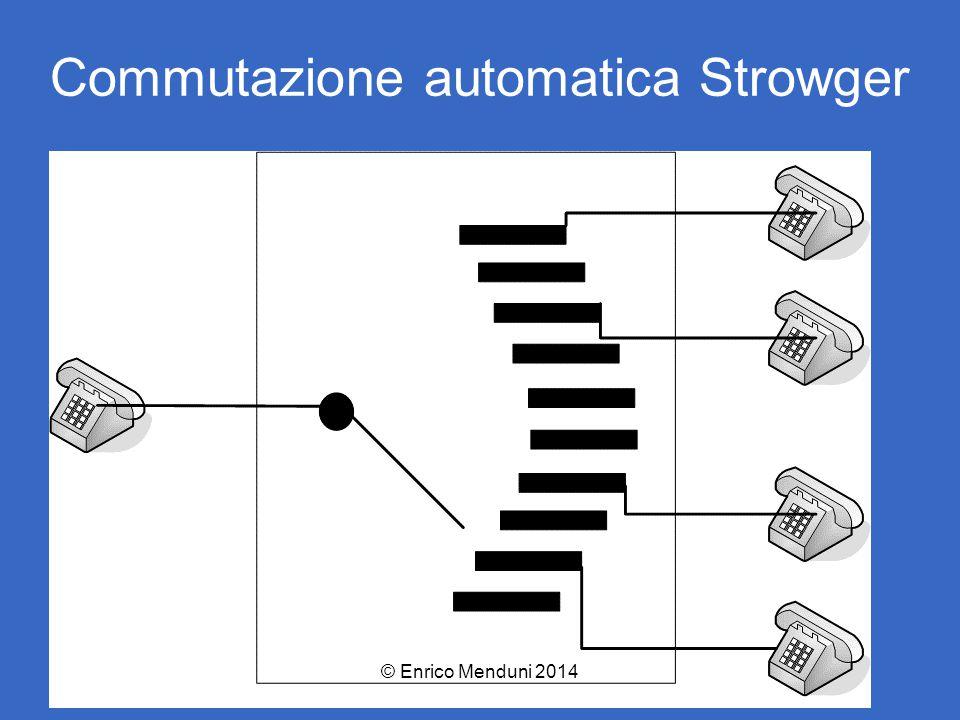 Commutazione automatica Strowger © Enrico Menduni 2014