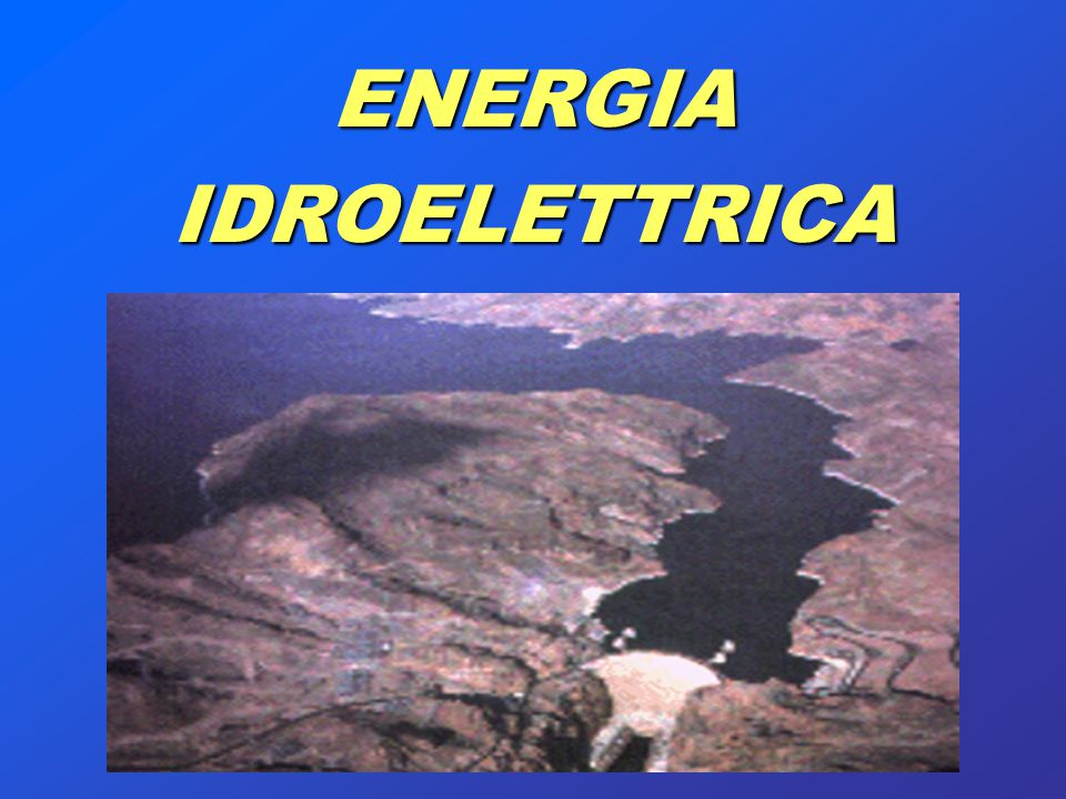 ENERGIAIDROELETTRICA