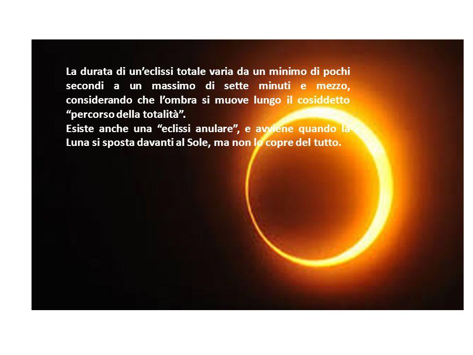 L'eclissi è un evento magnifico e sono molte le persone che investono tempo e passione per riuscire a vederne una. L'eclissi è in sostanza un fenomeno
