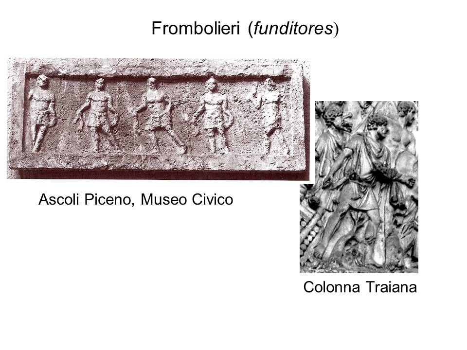 Colonna Traiana Frombolieri (funditores ) Ascoli Piceno, Museo Civico
