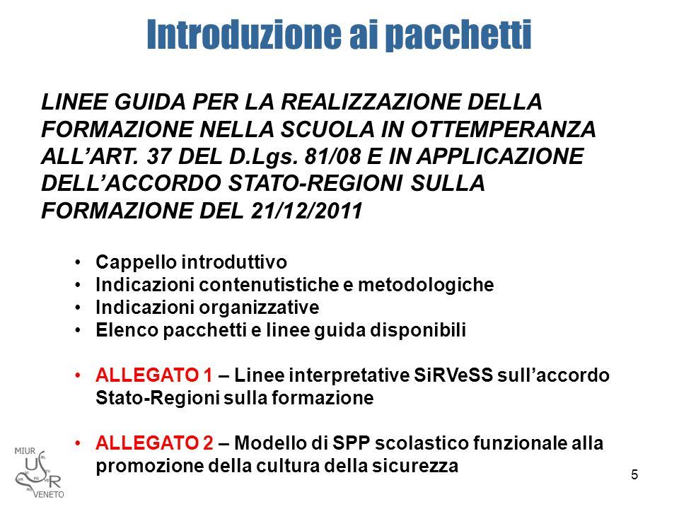 Le linee guida regionali SGS 26