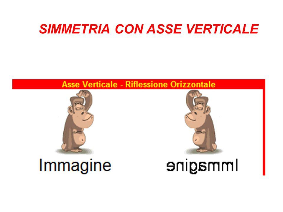 SIMMETRIA CON ASSE VERTICALE