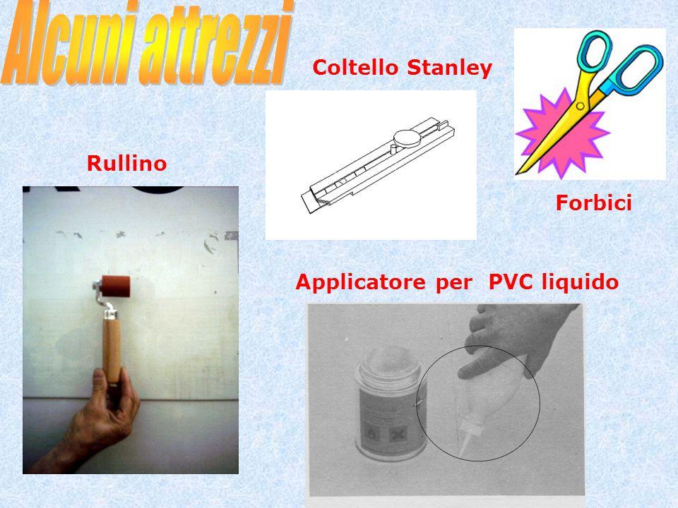 Rullino Coltello Stanley Forbici Applicatore per PVC liquido
