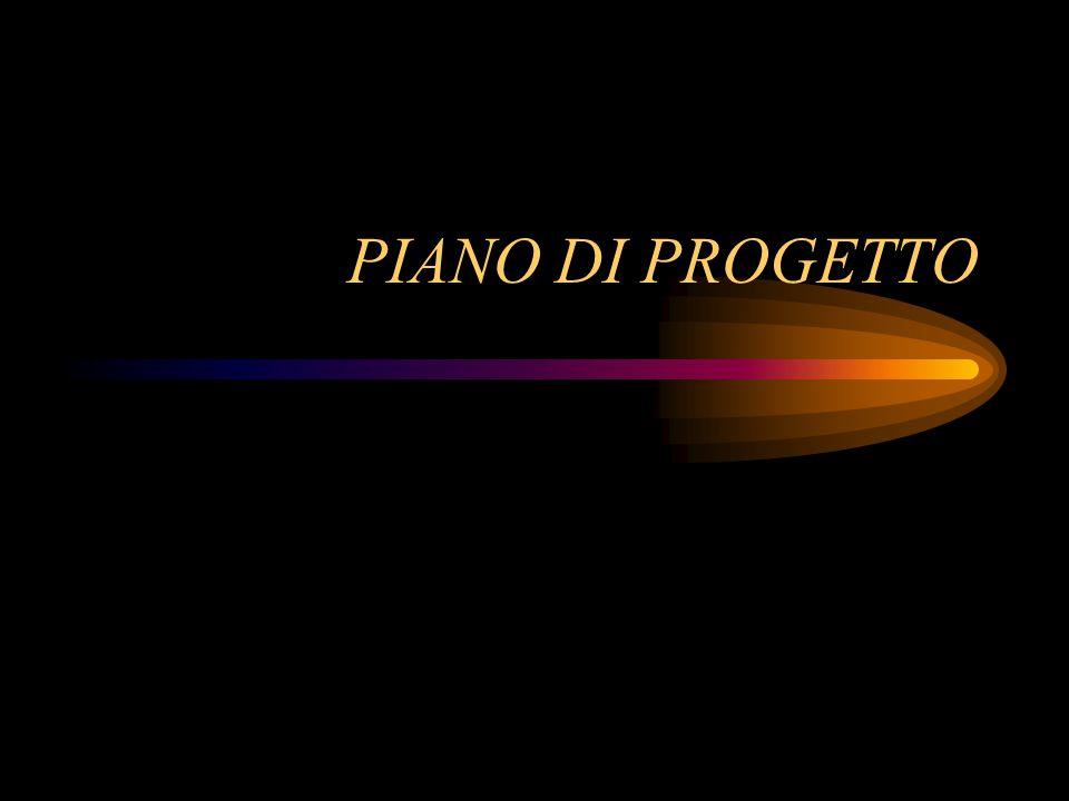 PIANO DI PROGETTO