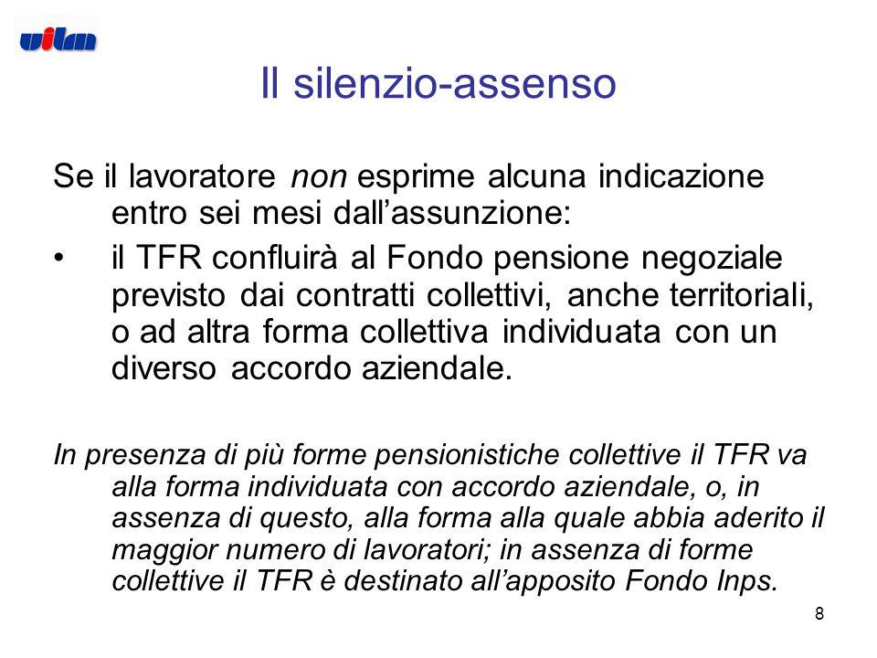 """7 Premessa: il TFR Il trattamento di fine rapporto, Tfr o anche """"liquidazione"""", è la somma che spetta al lavoratore dipendente al termine del lavoro i"""