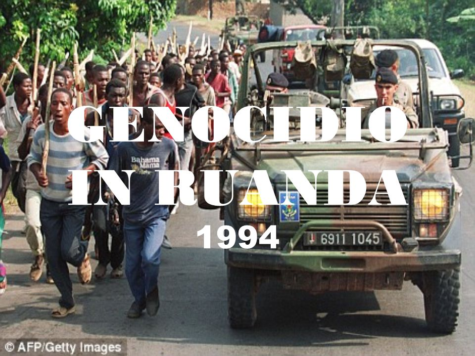 GENOCIDIO IN RUANDA 1994