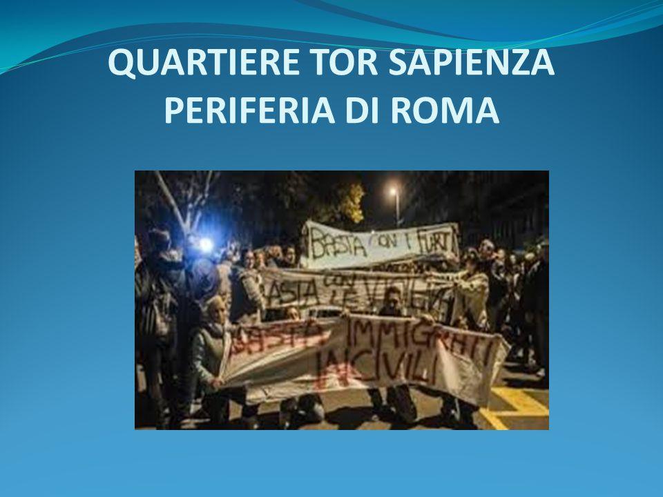 QUARTIERE TOR SAPIENZA PERIFERIA DI ROMA