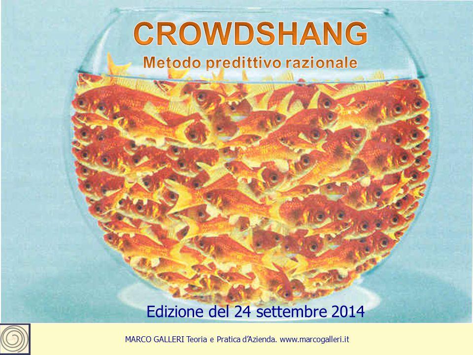 1 MARCO GALLERI Teoria e Pratica d'Azienda. www.marcogalleri.it Edizione del 24 settembre 2014