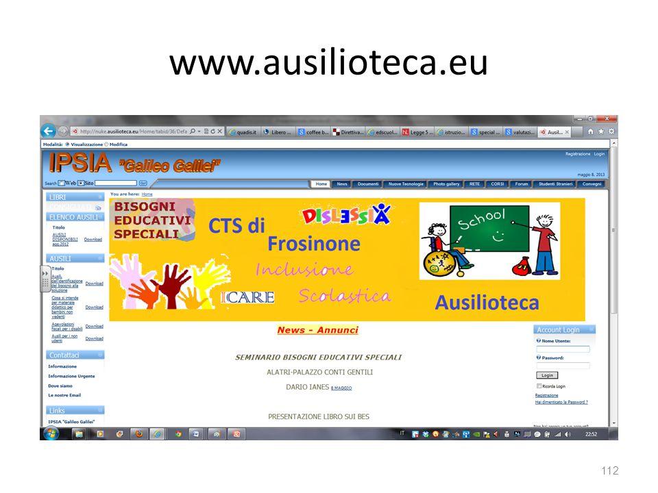 www.ausilioteca.eu 112