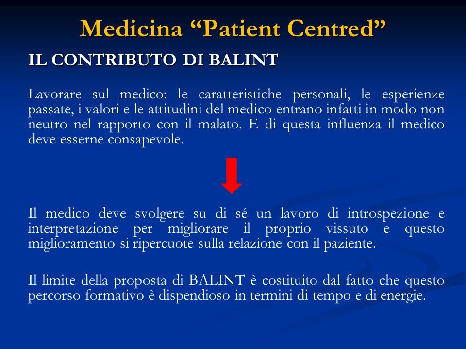 Medicina Patient Centred IL CONTRIBUTO DI ENGEL - - L'uomo è un sistema complesso che può essere analizzato come insieme di parti (SISTEMI) che lo compongono (ORGANI, TESSUTI, CELLULE, ATOMI) e come parte di sistemi sovrastanti (FAMIGLIA, CLUB, IL GRUPPO DI AMICI).