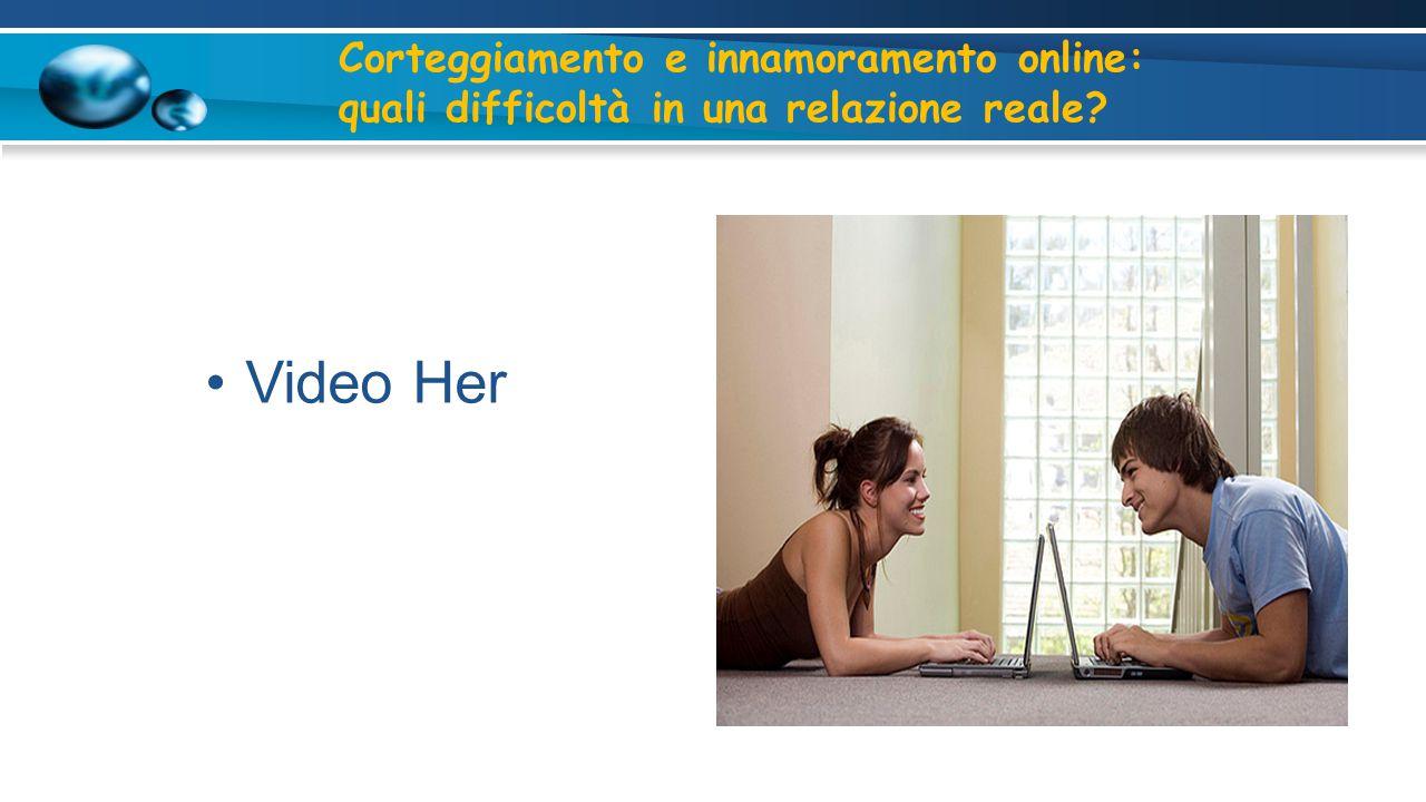 Video Her Corteggiamento e innamoramento online: quali difficoltà in una relazione reale?