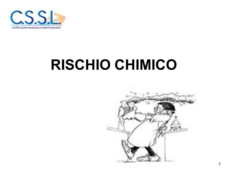 1 RISCHIO CHIMICO
