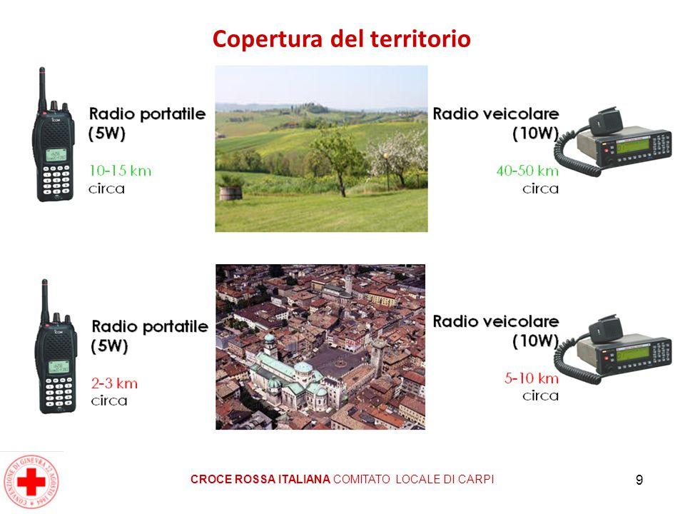 9 Copertura del territorio CROCE ROSSA ITALIANA COMITATO LOCALE DI CARPI