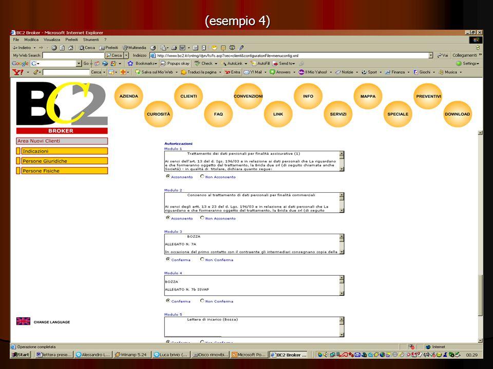 Software scheda Cliente (seconda parte) Area Clienti Obbiettivo: 1.