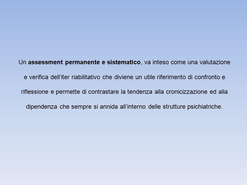 PRINCIPALI STRUMENTI UTILIZZATI NELL' ASSESSMENT OSSERVAZIONE COLLOQUIO STRUMENTI DI VALUTAZIONE