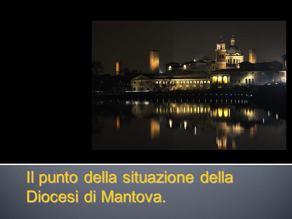 Il punto della situazione della Diocesi di Mantova.