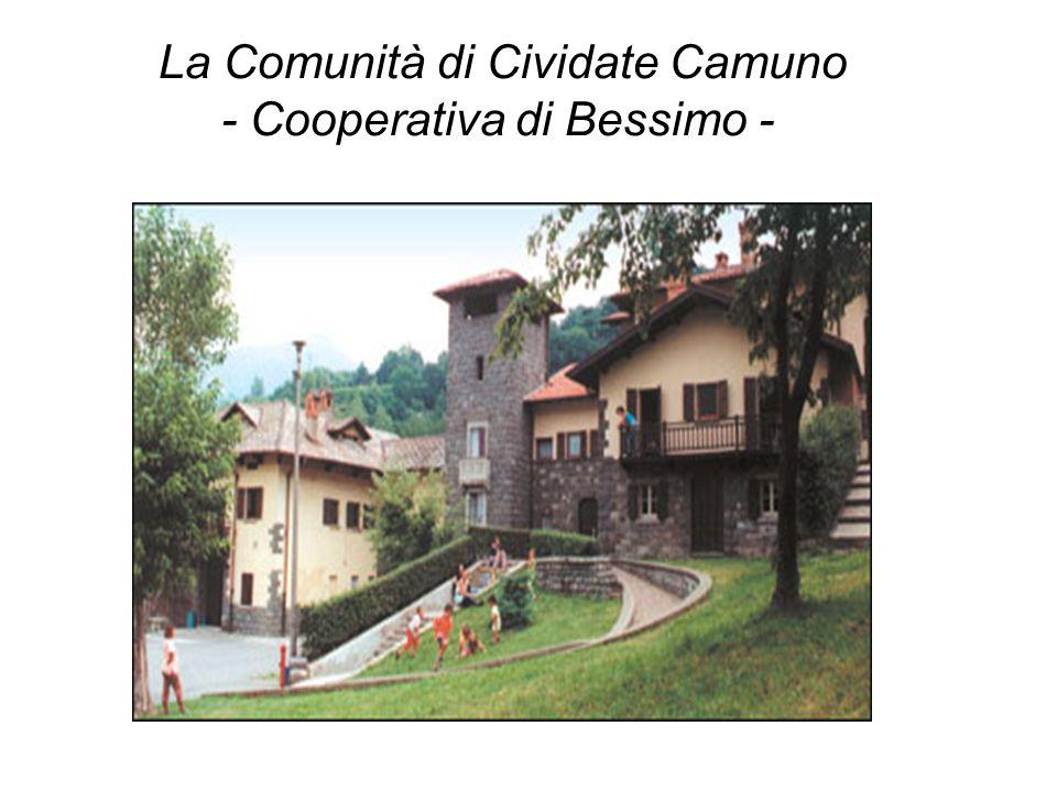 OBIETTIVO La Cooperativa di Bessimo, dal 1988 offre un nuovo Servizio.