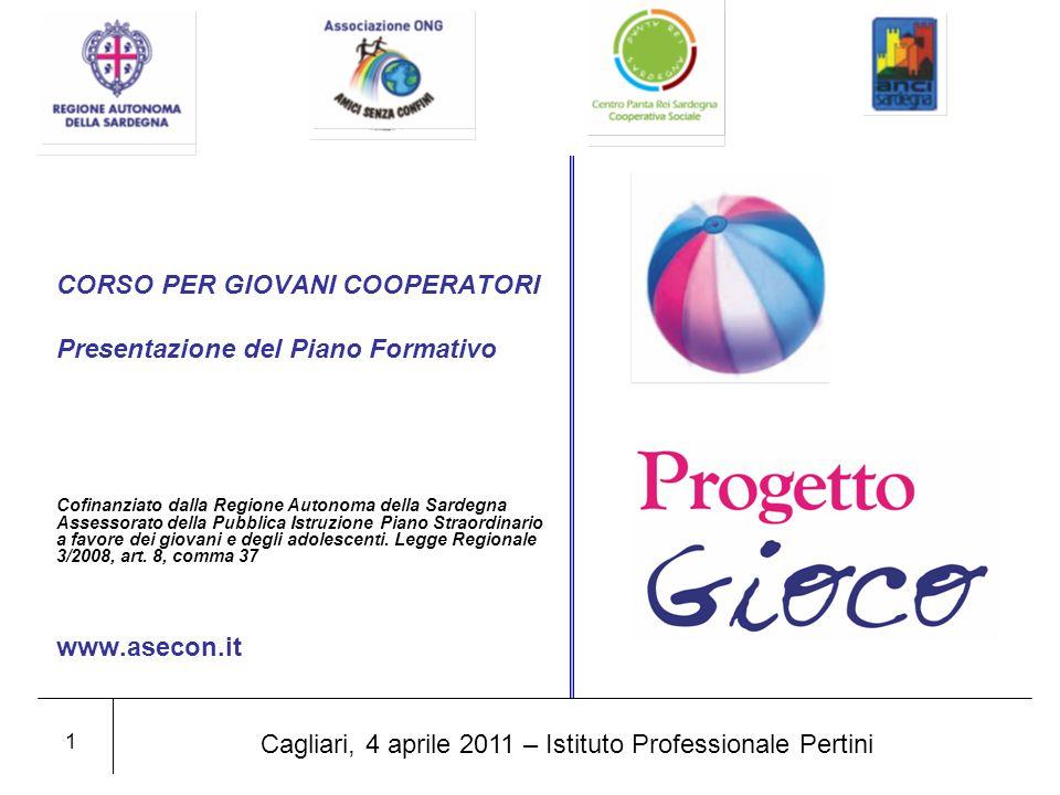 Introduzione Il progetto Gio.Co.