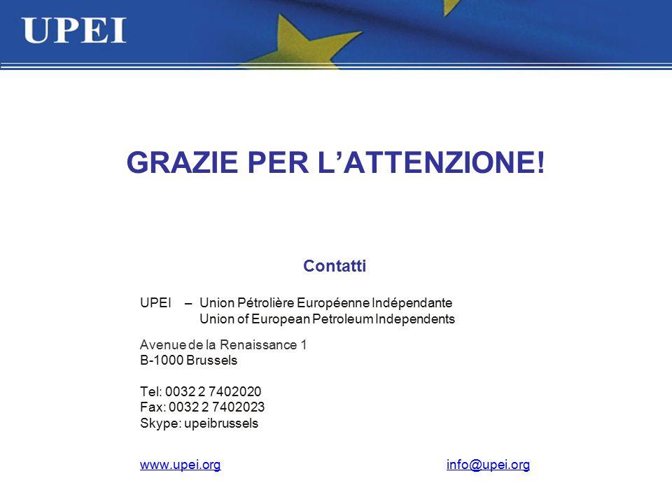 UPEI –Union Pétrolière Européenne Indépendante Union of European Petroleum Independents Avenue de la Renaissance 1 B-1000 Brussels Tel: 0032 2 7402020