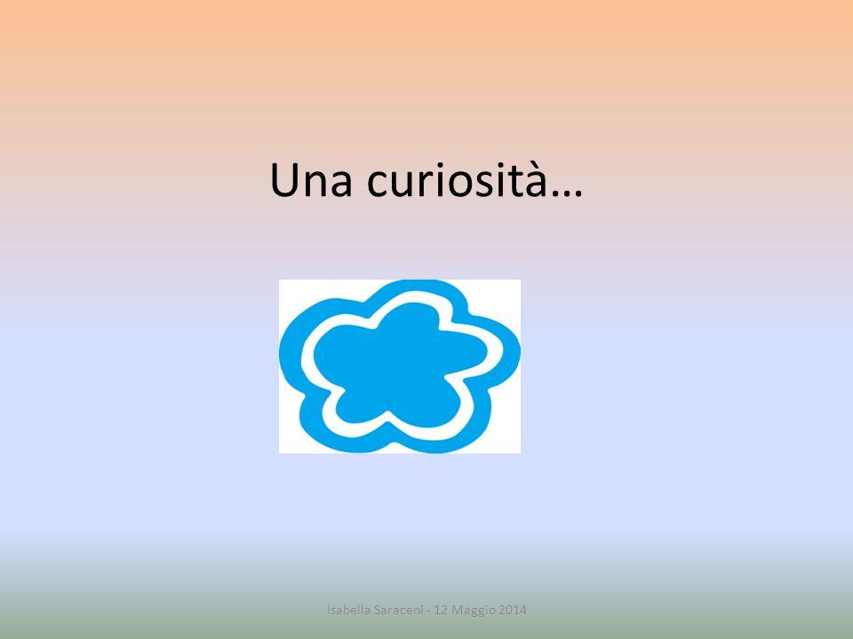 Una curiosità… Isabella Saraceni - 12 Maggio 2014