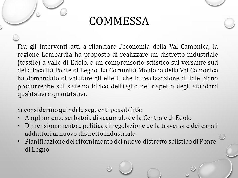 Fra gli interventi atti a rilanciare l'economia della Val Camonica, la regione Lombardia ha proposto di realizzare un distretto industriale (tessile)