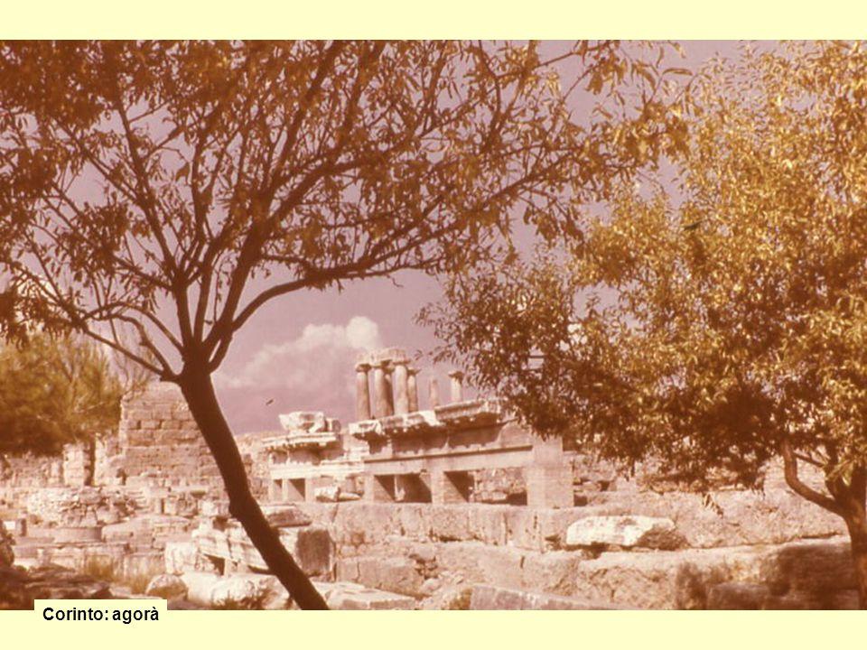 Corinto: agorà