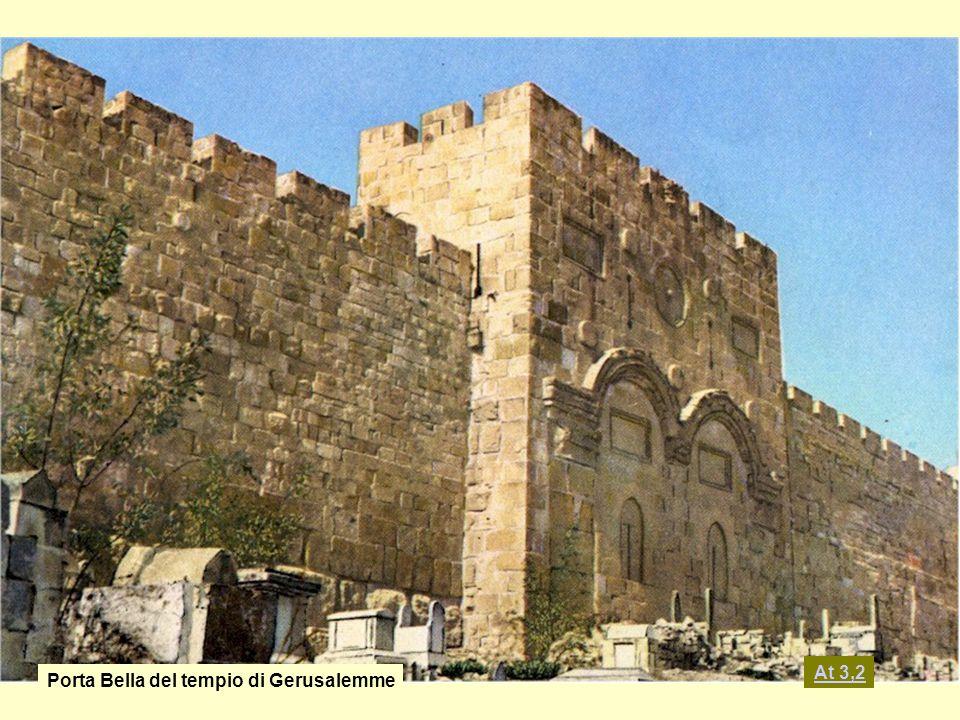Porta Bella del tempio di Gerusalemme At 3,2