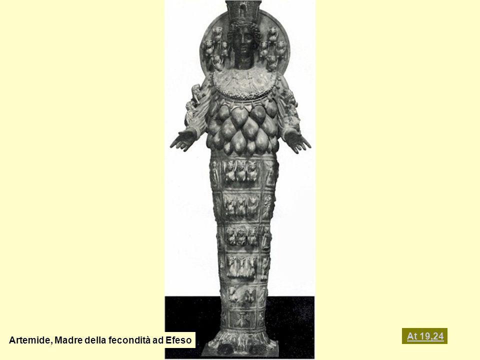 Artemide, Madre della fecondità ad Efeso At 19,24