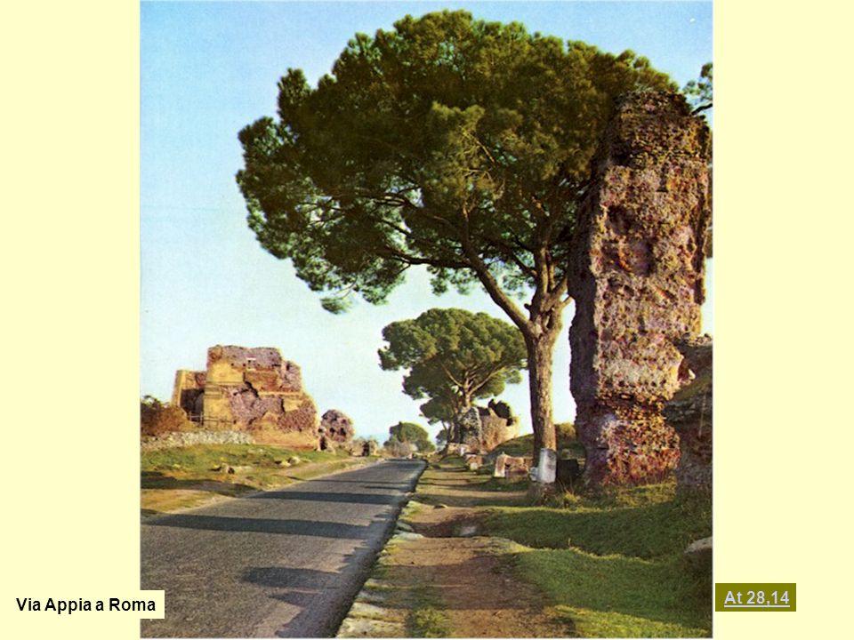 Via Appia a Roma At 28,14