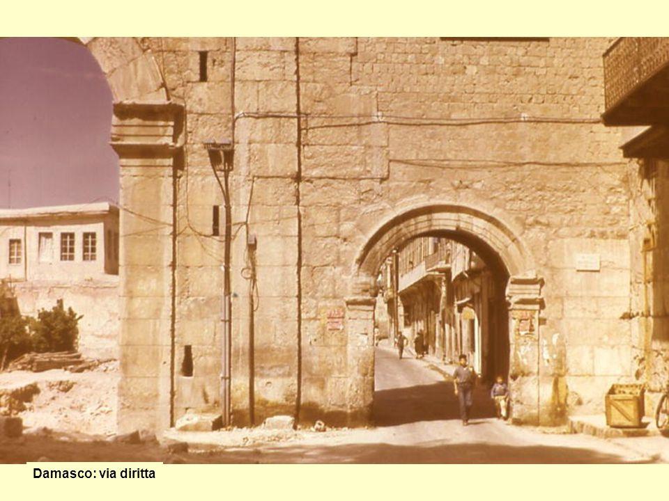 Damasco: via diritta
