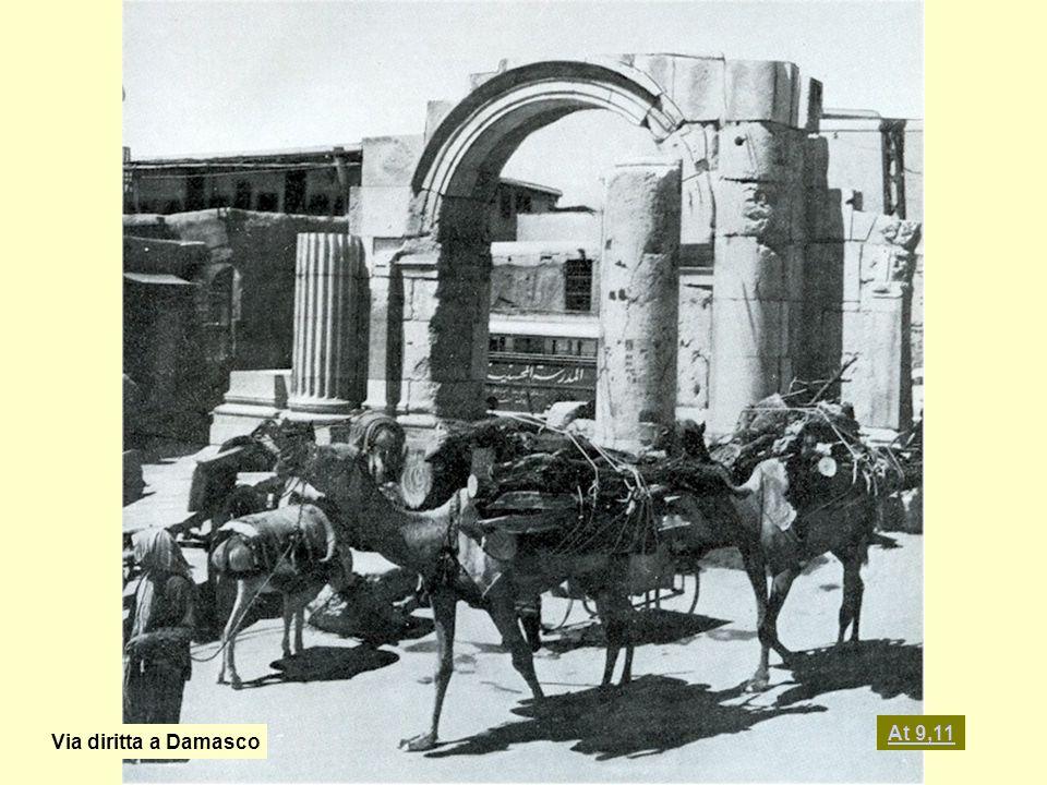 Via diritta a Damasco At 9,11