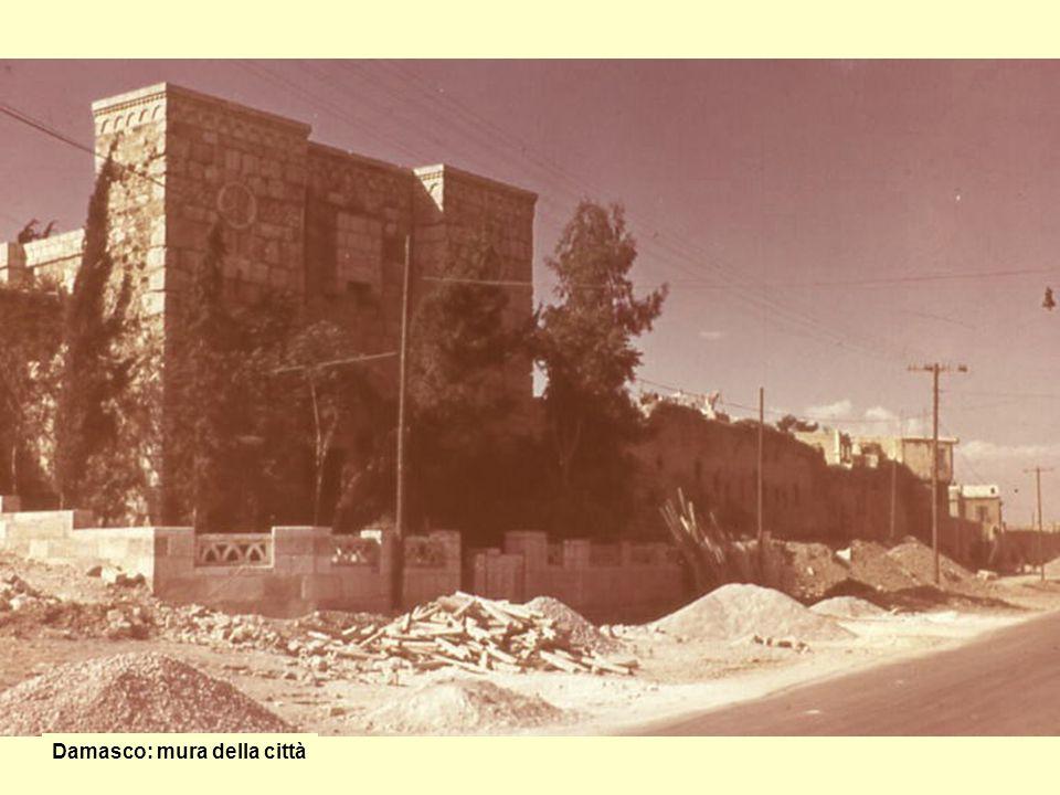 Casa sulle mura di Damasco At 9,25