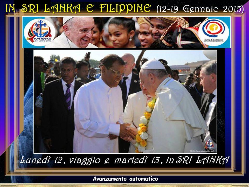 18.15 - Incontro Interreligioso ed Ecumenico nel Bandaranaike Memorial International Conference Hall