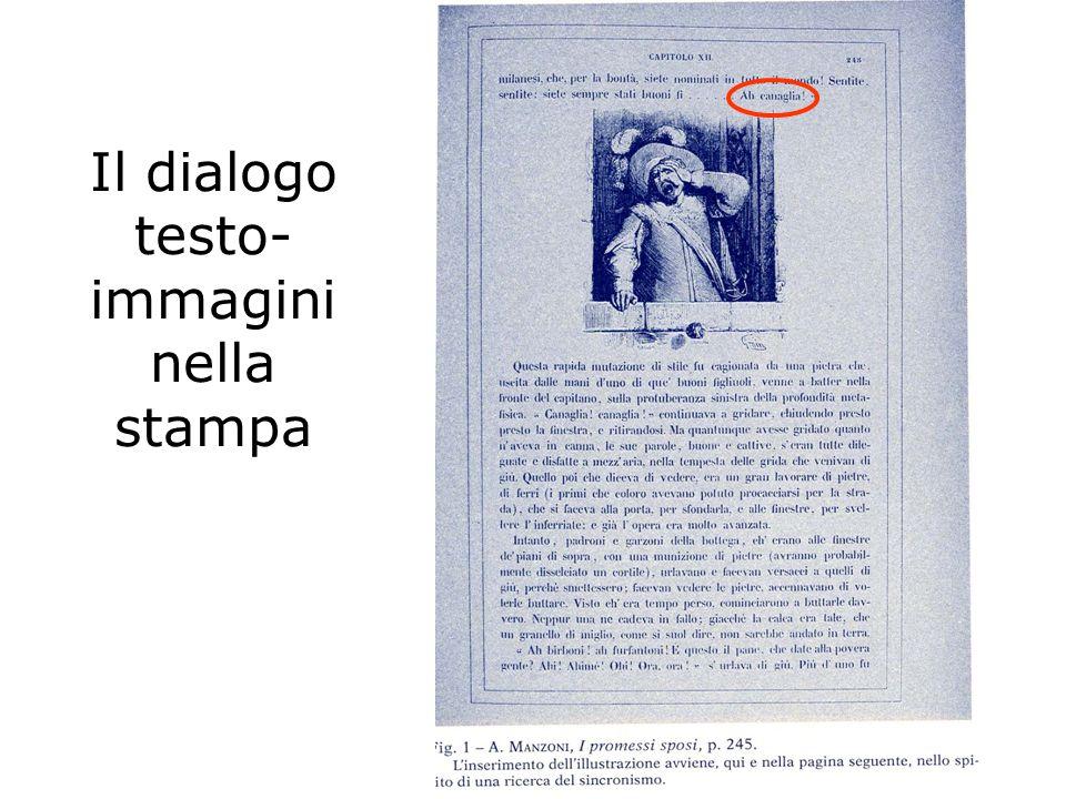 Il dialogo testo- immagini nella stampa