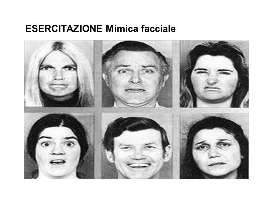 ESERCITAZIONE Mimica facciale