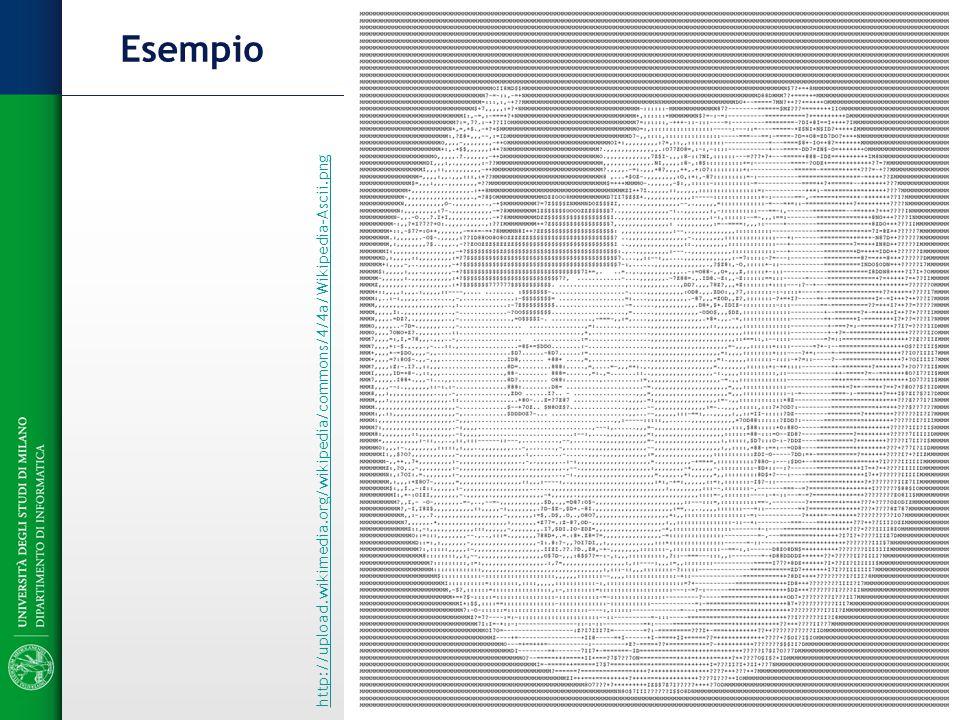 Esempio http://upload.wikimedia.org/wikipedia/commons/4/4a/Wikipedia-Ascii.png