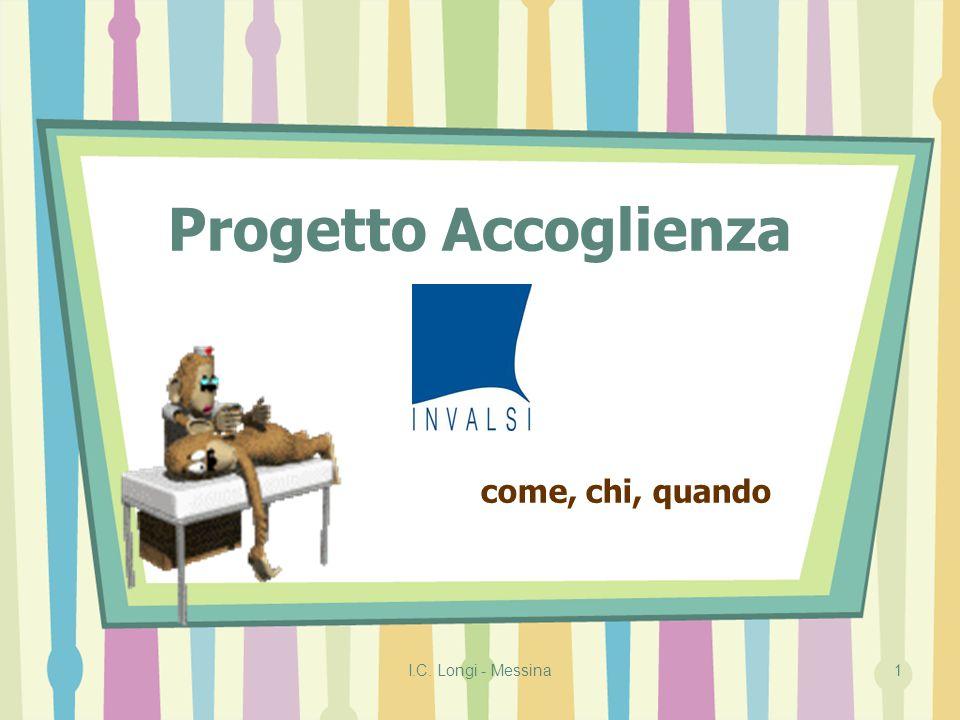 I.C. Longi - Messina1 Progetto Accoglienza come, chi, quando