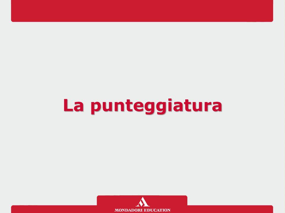 Che cos'è La punteggiatura è un insieme di segni di interpunzione che indicano come leggere e interpretare un testo scritto.