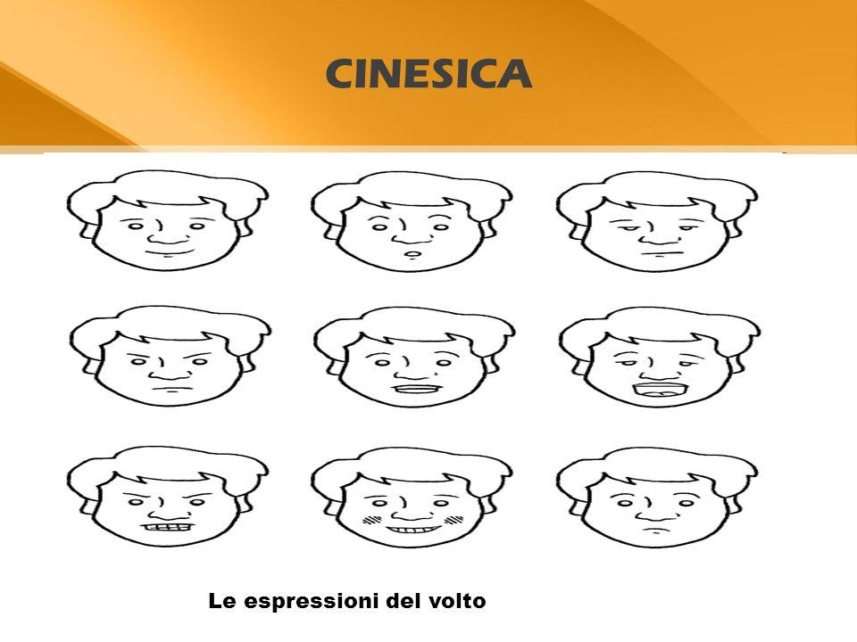 CINESICA Le espressioni del volto