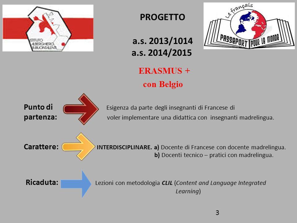 PROGETTO a.s. 2013/1014 a.s.