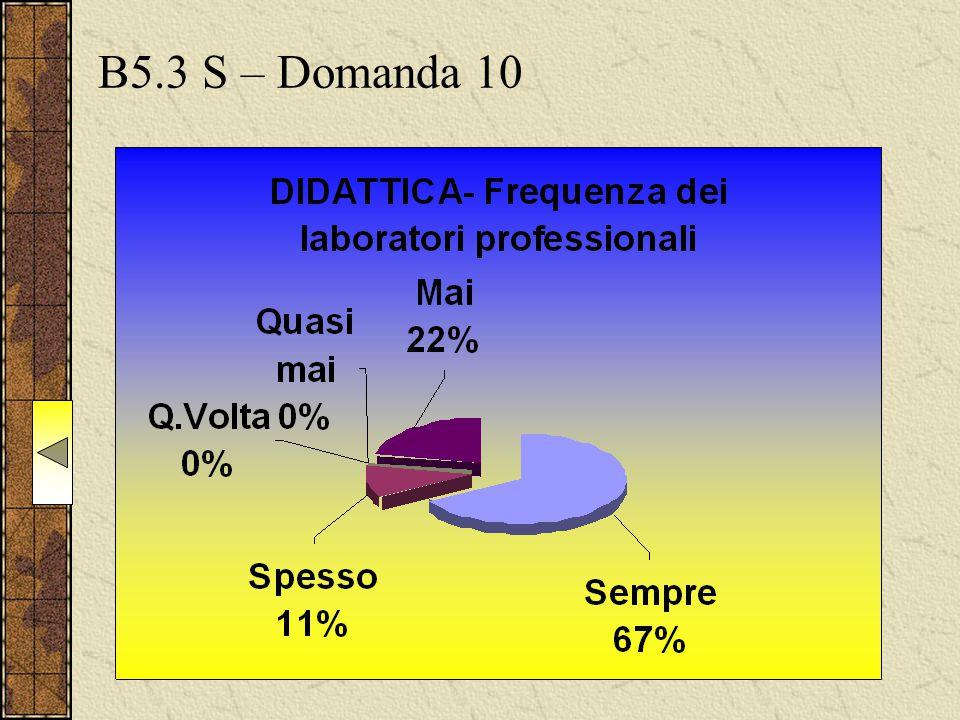 B5.3 S – Domanda 10