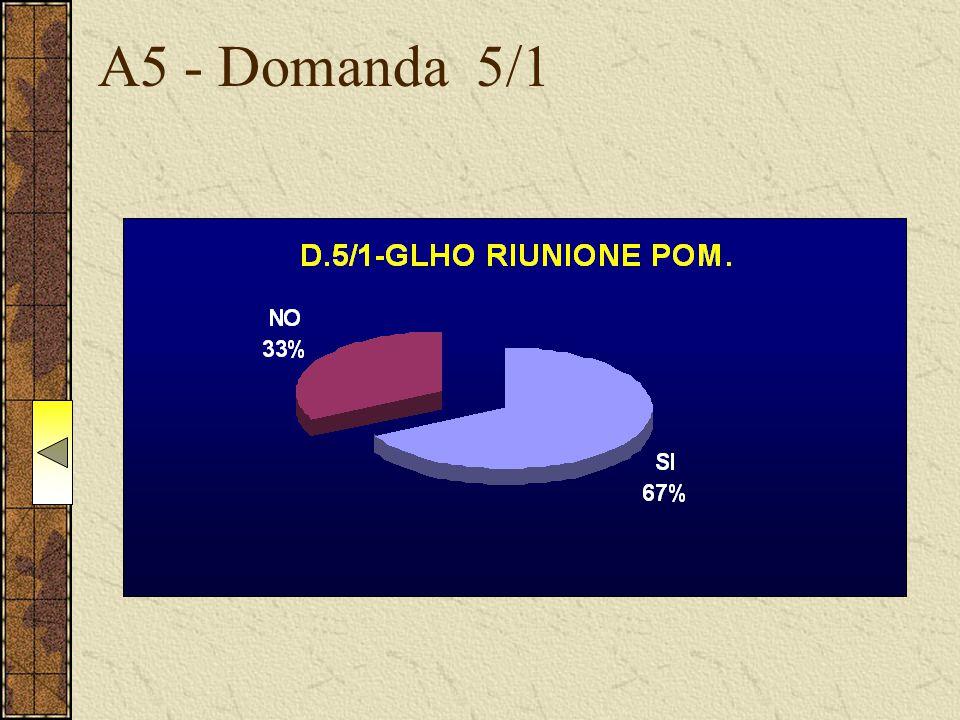 A5 - Domanda 5/1